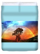 After The Storm, California Foothills                        Duvet Cover