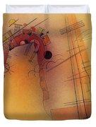 Aglow, 1928 Duvet Cover
