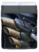 Agusta Racer Pipes Duvet Cover