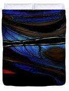 Aile De Papillon Bleu Duvet Cover