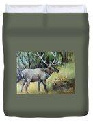 Alaska Elk Duvet Cover