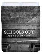 Alice Cooper Schools Out Duvet Cover