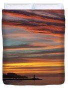 All Saints Day Sunrise Duvet Cover