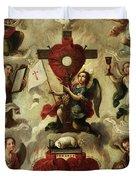 Allegory Of The Holy Eucharist Duvet Cover