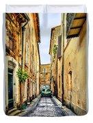 Alley In Avignon Duvet Cover
