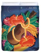 Aloha Welcome To Hawaii, 1932 Poster Duvet Cover