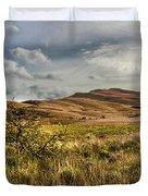 Along The Scottish Highlands Duvet Cover