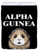 Alpha Guinea Pig Duvet Cover