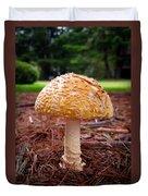 Amanita Fungus Duvet Cover