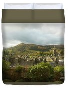 Ambleside Rooftops In The Lake District National Park Duvet Cover