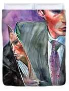 American Psycho Painting Duvet Cover