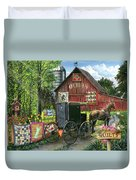 Amish Quilts Duvet Cover