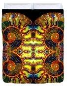 Ammonite Mandela - 044.1 Duvet Cover