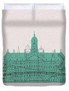 Amsterdam Landmarks Duvet Cover