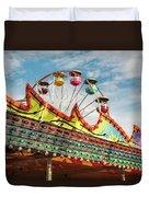 Amusement Park Fun Duvet Cover