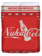 An Ice Cold Nuka Cola - Fallout Universe Duvet Cover