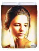 Anastasia Portrait Duvet Cover