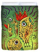 Ancient Spirit Duvet Cover by Sotuland Art