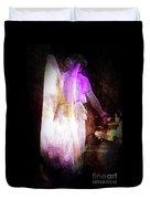 Angel In Black Duvet Cover