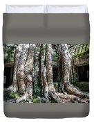 Angkor Roots Duvet Cover