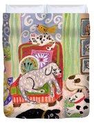 Animal Family 1 Duvet Cover