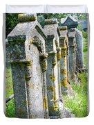 Annapolis Royal Gravestones Duvet Cover