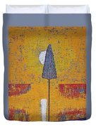 Another Day At The Office Original Painting Duvet Cover