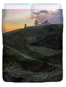 Anvil Point - England Duvet Cover