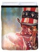 Apollo Creed  Duvet Cover by Joel Tesch