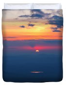 Appalachian Trail, New Hampshire Sunset Duvet Cover by Erin Paul Donovan