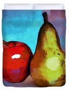 Apple And Pear Duvet Cover