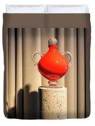 Apple Vase Duvet Cover