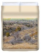 April Prairie Reverie Duvet Cover