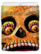 Aranas Sugarskull Of Spiders Duvet Cover