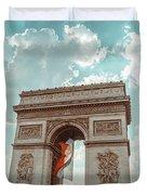 Arc De Triomphe - World Cup 2018 Duvet Cover