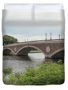 Arch Bridge Over River, Cambridge Duvet Cover