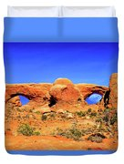 Arches Moon Eye Duvet Cover