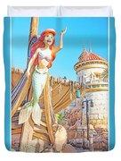 Ariel, The Little Mermaid, Walt Disney World Duvet Cover