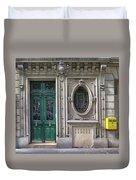 Art Deco Doorway Duvet Cover
