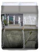 Arthur J. Will Memorial Fountain Duvet Cover