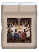 Arthurian Legend, The Knights Of The Round Table Duvet Cover
