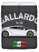 Lamborghini Gallardo Duvet Cover