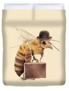 Worker Bee Duvet Cover