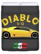 The Lamborghini Diablo Duvet Cover
