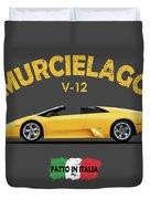 The Lamborghini Murcielago Duvet Cover