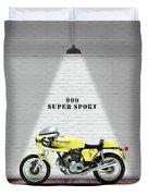 Ducati 900 Super Sport Duvet Cover