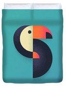 Toucan Geometric - Single Duvet Cover