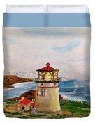 My Lighthouse Duvet Cover