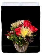 Friendship Bouquet Duvet Cover