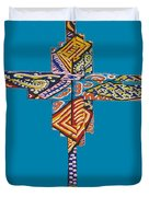The Abstract Cross Duvet Cover